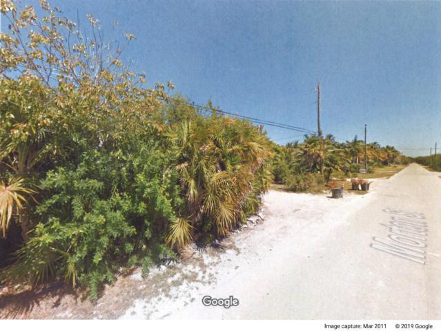 Lot 9 Morton Street, Marathon, FL 33050 (MLS #584651) :: Born to Sell the Keys