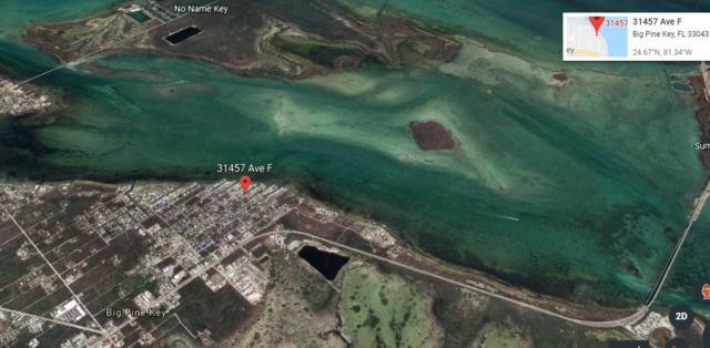31441 & 31457 Avenue F, Big Pine Key, FL 33043 (MLS #584830) :: Conch Realty