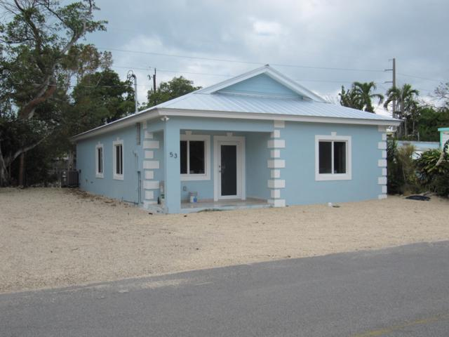 53 Jenny Lane, Key Largo, FL 33037 (MLS #585244) :: Key West Property Sisters