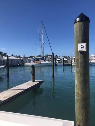 951 Caroline Street Slip 9, Key West, FL 33040 (MLS #587747) :: Key West Vacation Properties & Realty