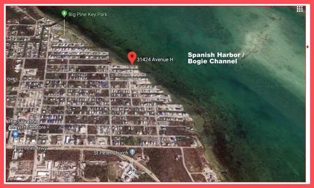31424 Avenue H, Big Pine Key, FL 33043 (MLS #587789) :: Coastal Collection Real Estate Inc.