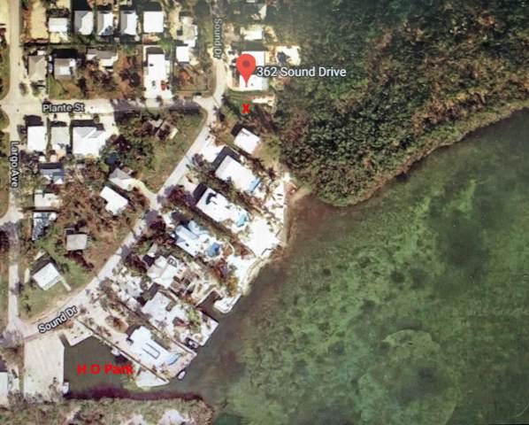 362 Sound Drive, Key Largo, FL 33037 (MLS #587836) :: Born to Sell the Keys