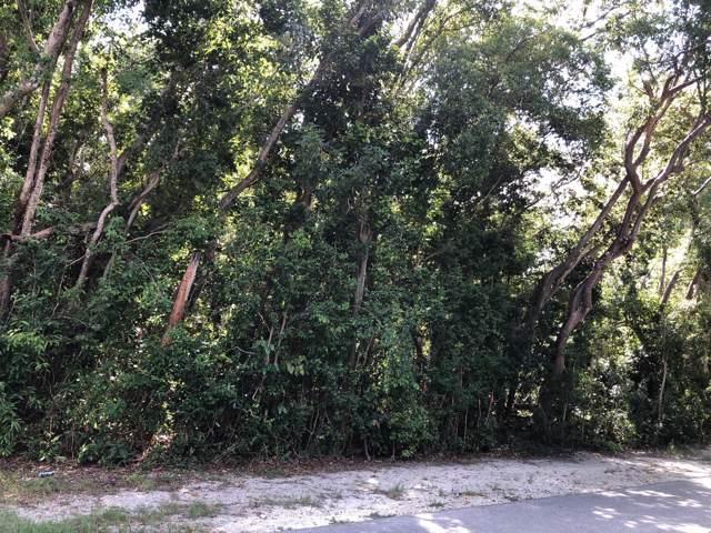 0 Bunky Street, Key Largo, FL 33037 (MLS #587843) :: Key West Luxury Real Estate Inc