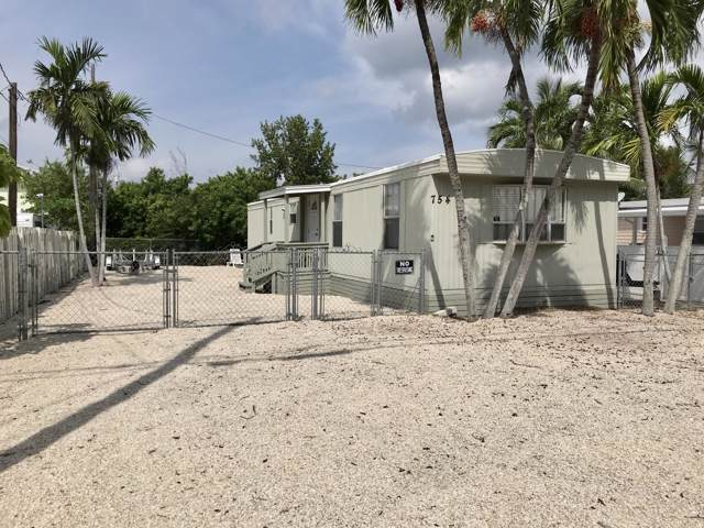 754 Largo Road, Key Largo, FL 33037 (MLS #587844) :: Brenda Donnelly Group