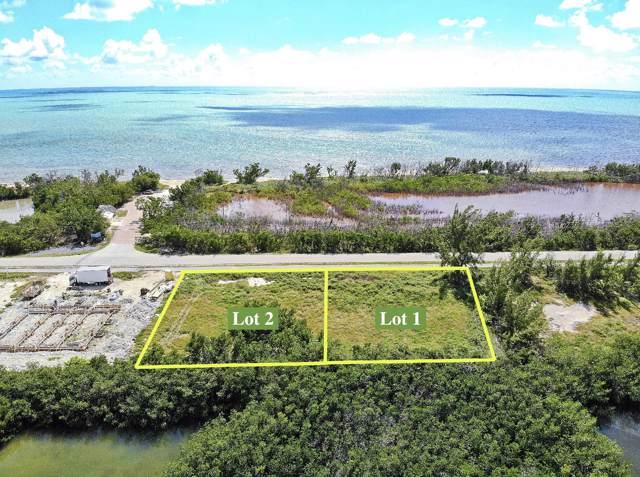 1690 Coco Plum Drive Lot 1 & 2, Marathon, FL 33050 (MLS #588039) :: Key West Luxury Real Estate Inc