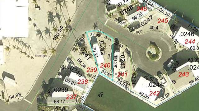 701 Spanish Main Drive #240, Cudjoe Key, FL 33042 (MLS #588139) :: Coastal Collection Real Estate Inc.