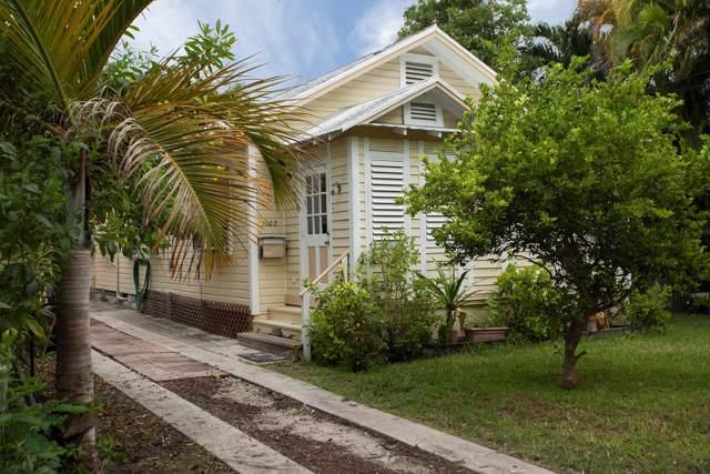 1003 Seminary Street, Key West, FL 33040 (MLS #588233) :: Jimmy Lane Home Team