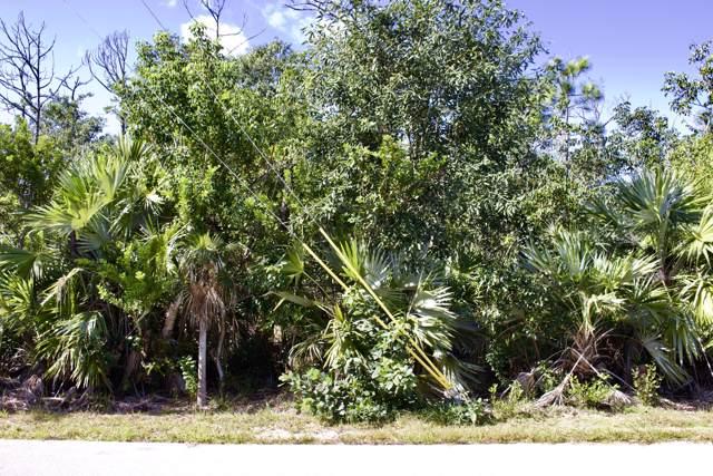 Lot 22 Sandy Circle, Big Pine Key, FL 33043 (MLS #588361) :: Key West Luxury Real Estate Inc