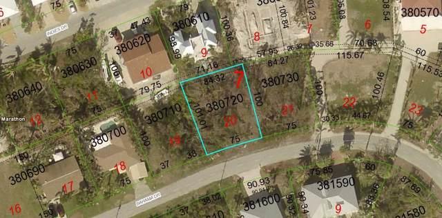 20 N Bahama Drive, Duck Key, FL 33050 (MLS #588614) :: Key West Luxury Real Estate Inc