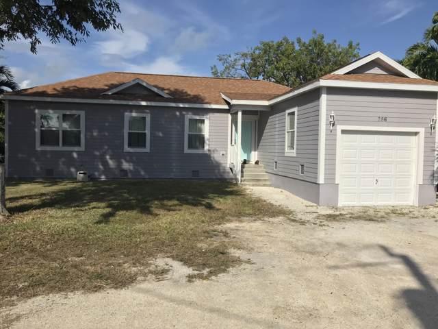 286 Lee Avenue, Key Largo, FL 33037 (MLS #588720) :: Born to Sell the Keys