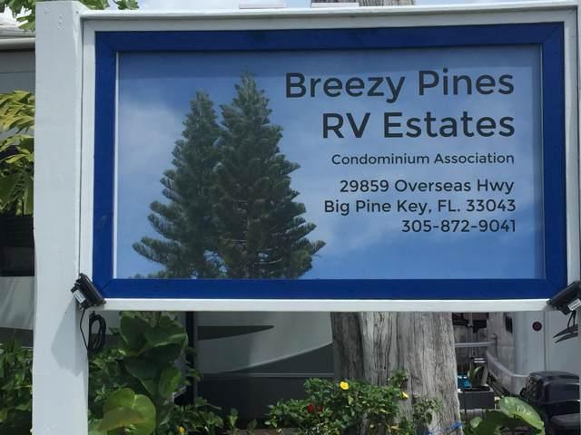 29859 Overseas Highway #44, Big Pine Key, FL 33043 (MLS #589311) :: Key West Luxury Real Estate Inc