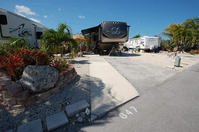 701 Spanish Main Drive #647, Cudjoe Key, FL 33042 (MLS #590260) :: Keys Island Team
