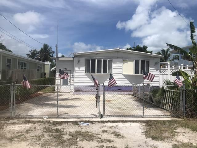474 83Rd Street Ocean Street, Marathon, FL 33050 (MLS #591467) :: Key West Luxury Real Estate Inc