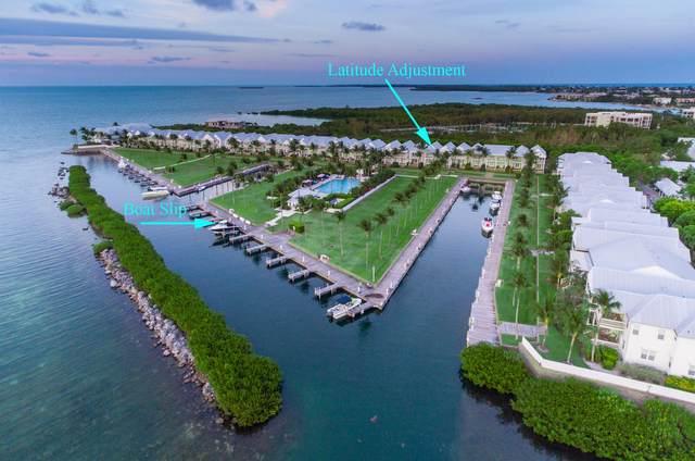 11600 1St Avenue Gulf Avenue 33 & Boat Slip , Marathon, FL 33050 (MLS #591932) :: Key West Luxury Real Estate Inc