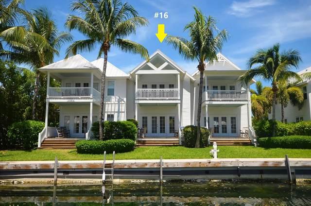 12399 Overseas Highway 16- Wet Slip 5 , Marathon, FL 33050 (MLS #591999) :: Key West Luxury Real Estate Inc