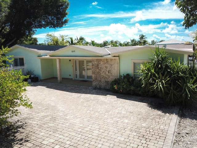 849 Ellen Drive, Key Largo, FL 33037 (MLS #592610) :: Key West Luxury Real Estate Inc