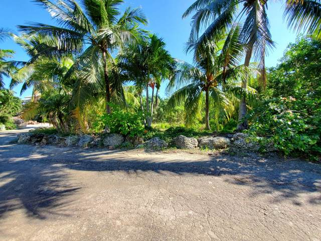 1516 Shaw Drive, Key Largo, FL 33037 (MLS #593591) :: KeyIsle Realty