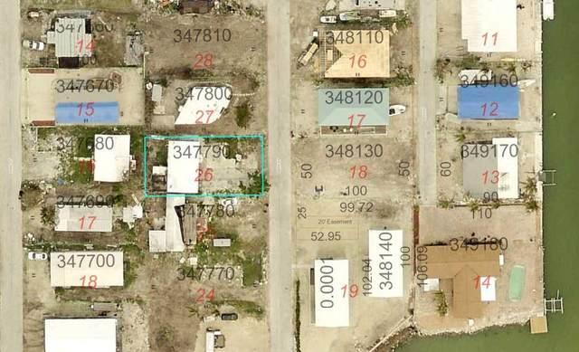 977 84Th Street Ocean Street, Marathon, FL 33050 (MLS #593628) :: Jimmy Lane Home Team