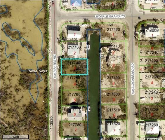539 Pirates Road, Little Torch Key, FL 33042 (MLS #595094) :: The Mullins Team