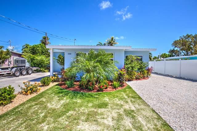 540 96Th Street Ocean Street, Marathon, FL 33050 (MLS #595211) :: Key West Luxury Real Estate Inc