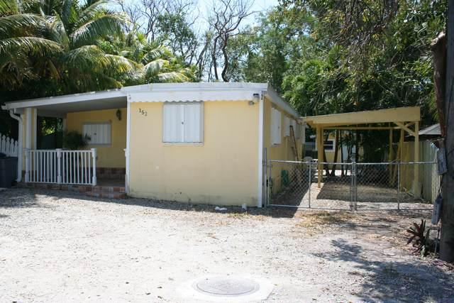 152 Buttonwood Avenue, Key Largo, FL 33037 (MLS #595599) :: Brenda Donnelly Group