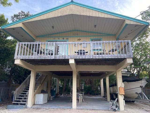 106 Mangrove Avenue, Key Largo, FL 33037 (MLS #595912) :: Key West Luxury Real Estate Inc