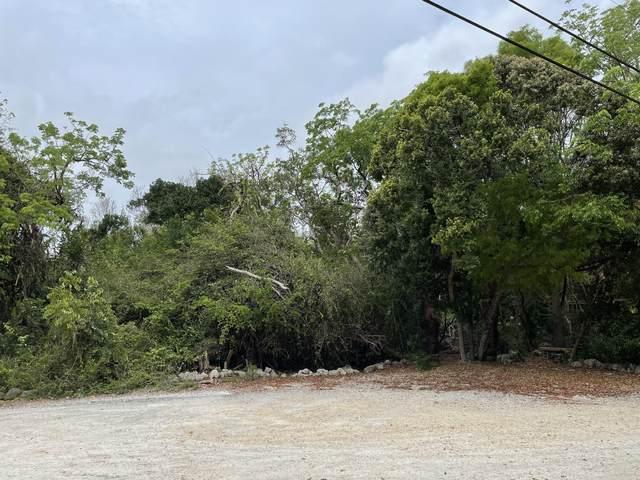 Vacant Lot Tree Lane, Key Largo, FL 33070 (MLS #596054) :: KeyIsle Group