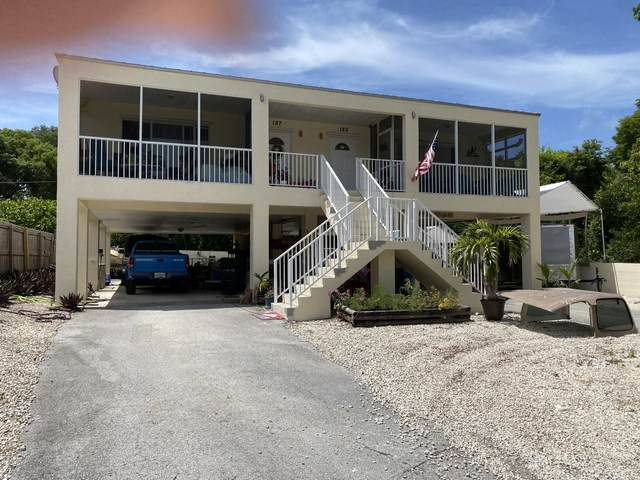 189 Casa Court Drive 187 & 189, Key Largo, FL 33037 (MLS #597140) :: Brenda Donnelly Group