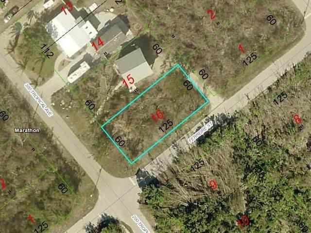 Corner Of Tropical And Ferrier Avenue, Marathon, FL 33050 (MLS #597389) :: Jimmy Lane Home Team