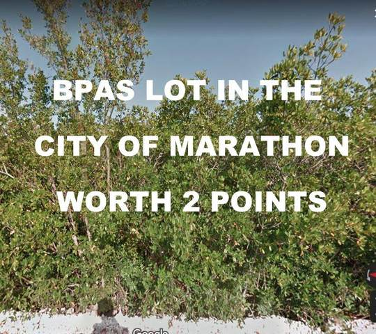 Lot 4 Avenue K, Marathon, FL 33050 (MLS #597623) :: Brenda Donnelly Group