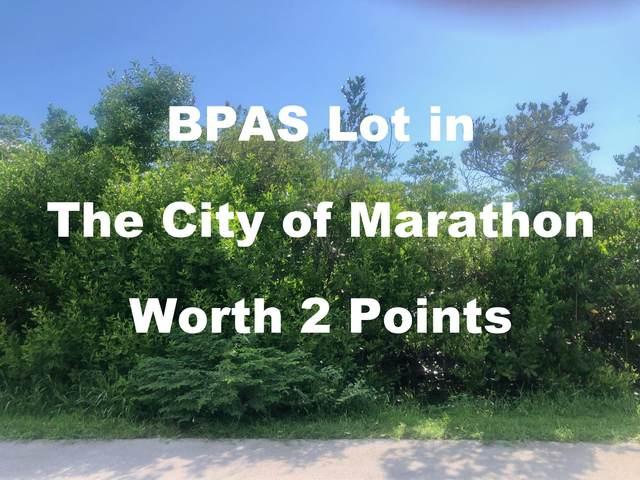 Lot 5 Avenue K, Marathon, FL 33050 (MLS #597861) :: BHHS- Keys Real Estate