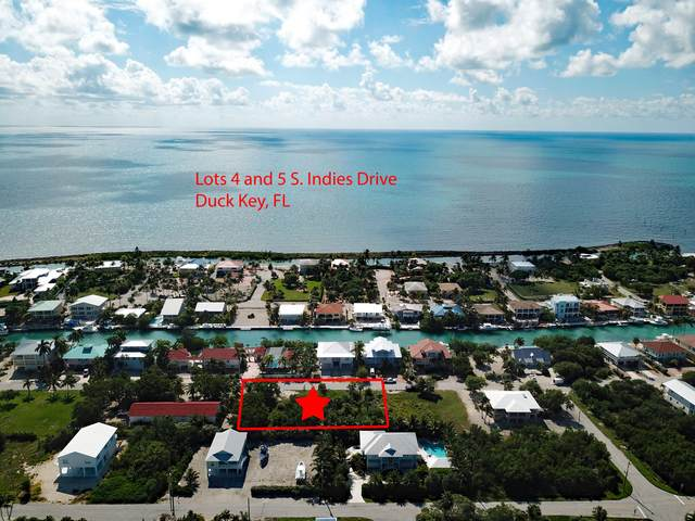LTS 4 & 5 S Indies Drive, Duck Key, FL 33050 (MLS #597985) :: Brenda Donnelly Group