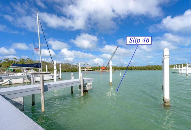 12399 Overseas Highway Slip 46, Marathon, FL 33050 (MLS #576574) :: Jimmy Lane Real Estate Team