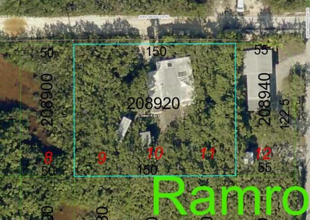 26868 Mariposa Road, Ramrod Key, FL 33042 (MLS #579306) :: Jimmy Lane Real Estate Team