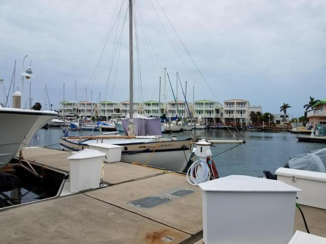 5555 College Road Slip 9, Key West, FL 33040 (MLS #580322) :: Brenda Donnelly Group