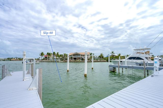 12399 Overseas Highway Slip 60, Marathon, FL 33050 (MLS #580347) :: Key West Luxury Real Estate Inc