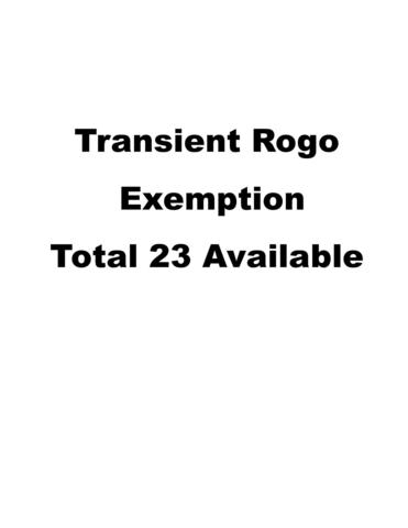 1 Transient Rogo Exemption, Other, FL 00000 (MLS #581200) :: Key West Luxury Real Estate Inc