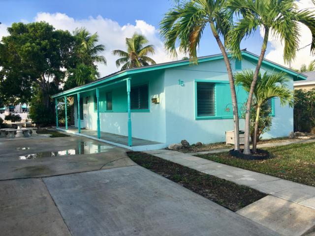 15 Arbutus Drive, Key Haven, FL 33040 (MLS #583140) :: Key West Luxury Real Estate Inc