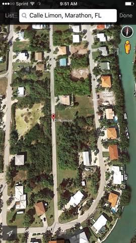 Calle Limon, Marathon, FL 33050 (MLS #587814) :: Brenda Donnelly Group