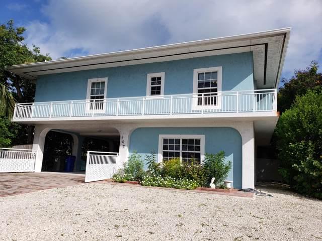 102 Mockingbird Road, Plantation Key, FL 33070 (MLS #588033) :: Coastal Collection Real Estate Inc.