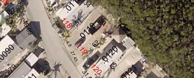 101551 Overseas Highway #119, Key Largo, FL 33037 (MLS #590719) :: Born to Sell the Keys