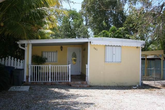 152 Buttonwood Avenue, Key Largo, FL 33037 (MLS #595599) :: Coastal Collection Real Estate Inc.