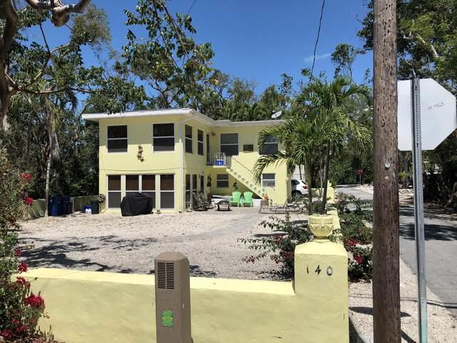 140 S Bay Harbor Drive, Key Largo, FL 33037 (MLS #596340) :: The Mullins Team