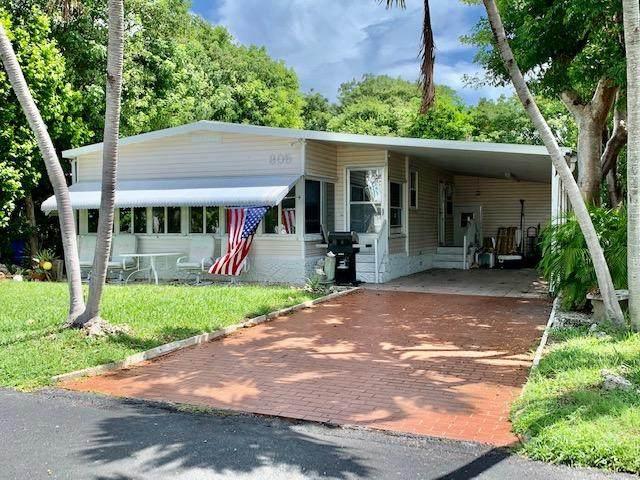 805 N Topaz Avenue, Key Largo, FL 33037 (MLS #591852) :: Jimmy Lane Home Team