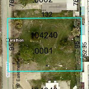107th Street Ocean, Marathon, FL 33050 (MLS #594176) :: Keys Island Team