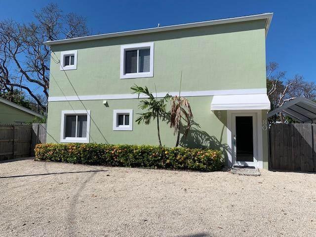 80 Le Grand Drive, Key Largo, FL 33037 (MLS #595742) :: The Mullins Team