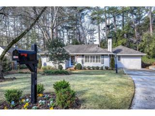 718 Darlington Road NE, Atlanta, GA 30305 (MLS #5809931) :: North Atlanta Home Team