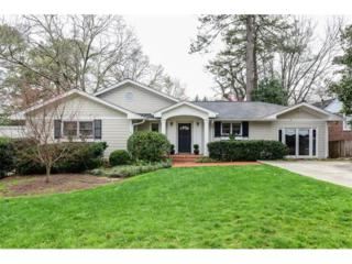 309 Springdale Drive NE, Atlanta, GA 30305 (MLS #5814516) :: North Atlanta Home Team