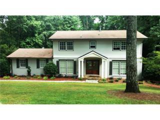805 Spalding Drive, Sandy Springs, GA 30328 (MLS #5854148) :: Buy Sell Live Atlanta