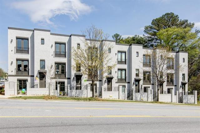 713 Taylor Court NE #13, Atlanta, GA 30324 (MLS #5882999) :: The Bolt Group